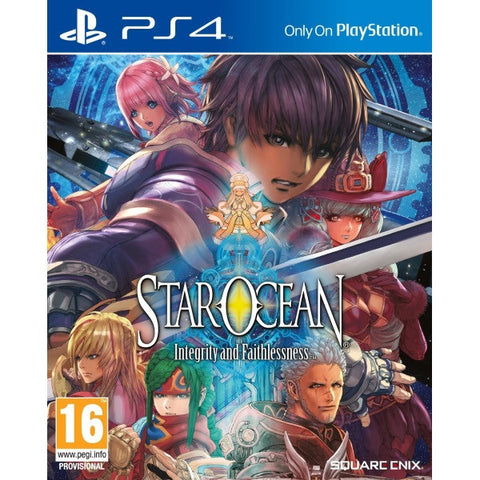 Star Ocean: Integrity and Faithlessness [PlayStation 4]