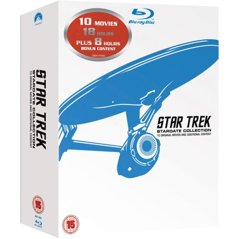 Star Trek: Stardate Collection - The Movies 1-10 [Blu-Ray Box Set]