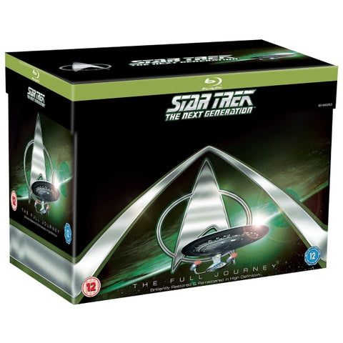 Star Trek: The Next Generation - The Full Journey [Blu-Ray Box Set]