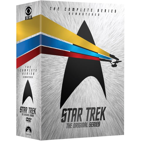 Star Trek: The Original Series - The Complete Series Remastered - Seasons 1-3 [DVD Box Set]