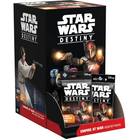 Star Wars Destiny TCG: Empire at War Booster Box - 36 Packs, Dice Included [Card Game, Ages 10+]