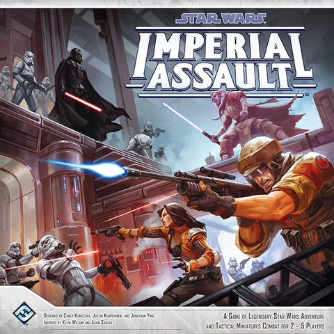 Star Wars: Imperial Assault [Board Game, 2-5 Players]