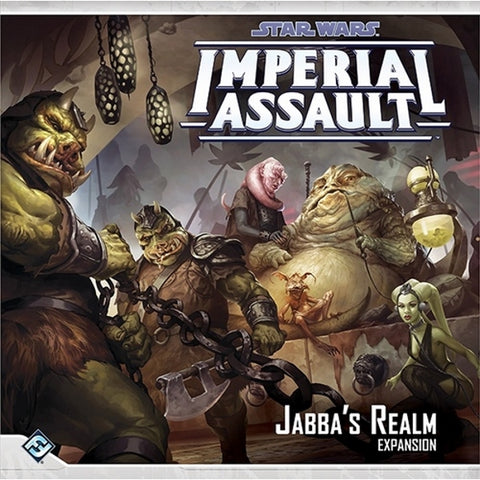 Star Wars: Imperial Assault - Jabba's Realm Expansion [Board Game, 2-5 Players]