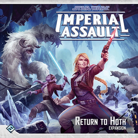Star Wars: Imperial Assault - Return to Hoth Expansion [Board Game, 2-5 Players]