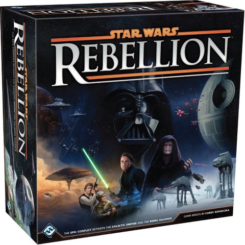 Star Wars: Rebellion [Board Game, 2-4 Players]