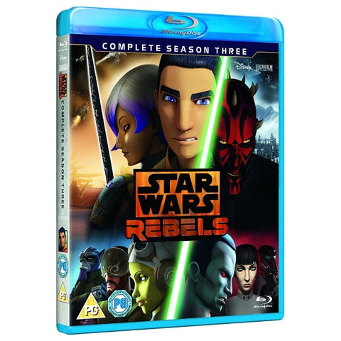 Star Wars Rebels: The Complete Season Three [Blu-Ray Box Set]