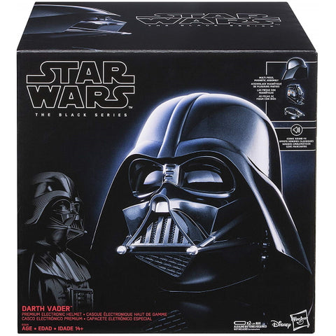 Star Wars: The Black Series - Darth Vader Premium Electronic Helmet [Toys, Ages 14+]