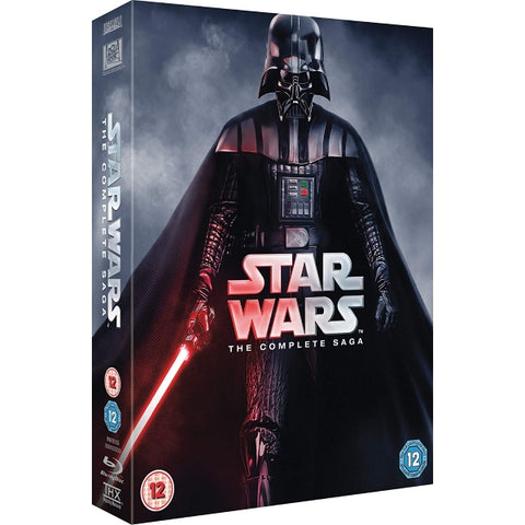 Star Wars: The Complete Saga - Episodes I-VI [Blu-Ray Box Set]