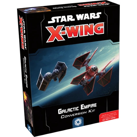 Star Wars: X-Wing Miniatures Game 2.0 - Galactic Empire Conversion Kit [Board Game, 2 Players]