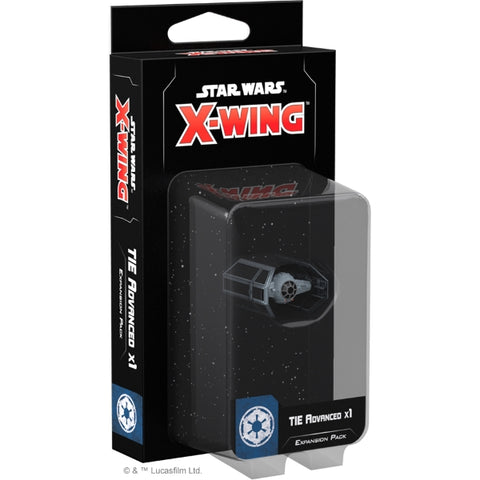 Star Wars: X-Wing Miniatures Game 2.0 - TIE Advanced x1 Expansion Pack [Board Game, 2 Players]