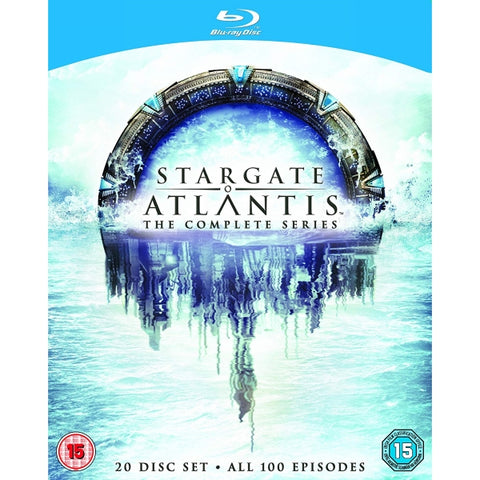 Stargate Atlantis: The Complete Series - Seasons 1-5 [Blu-Ray Box Set]