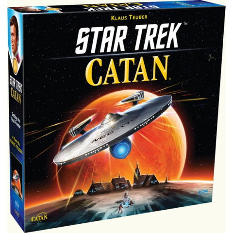 Star Trek: Catan [Board Game, 3-4 Players]
