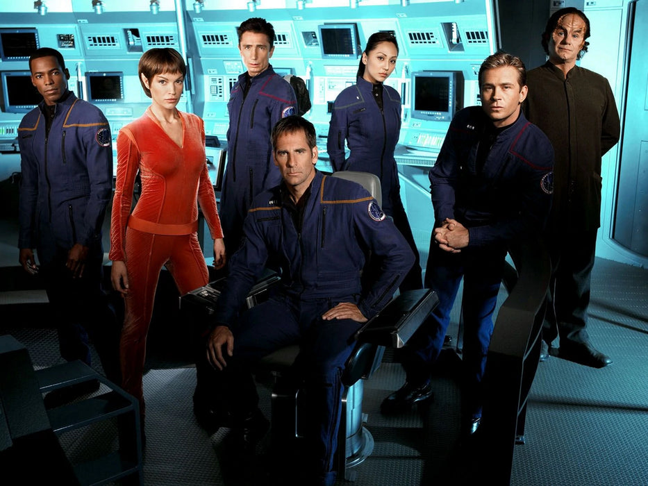 Star Trek: Enterprise: The Complete Series - Seasons 1-4 [DVD Box Set]