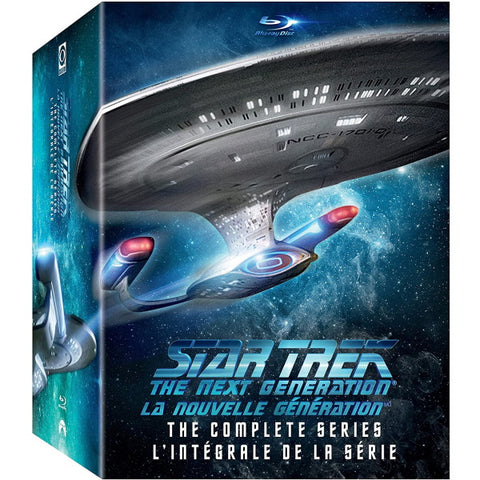 Star Trek: The Next Generation: The Complete Series - Seasons 1-7 [Blu-Ray Box Set]