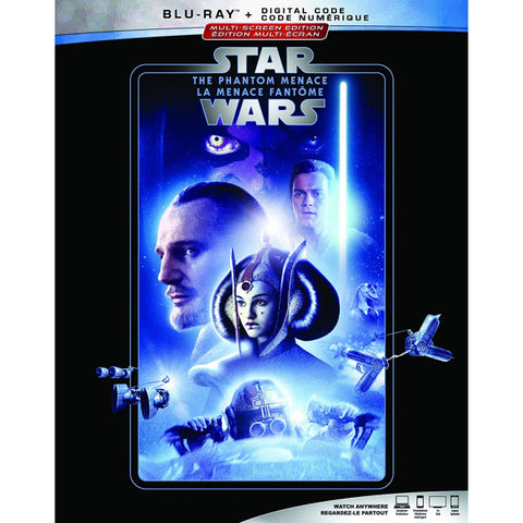 Star Wars: Episode I - The Phantom Menace [Blu-ray + Digital]