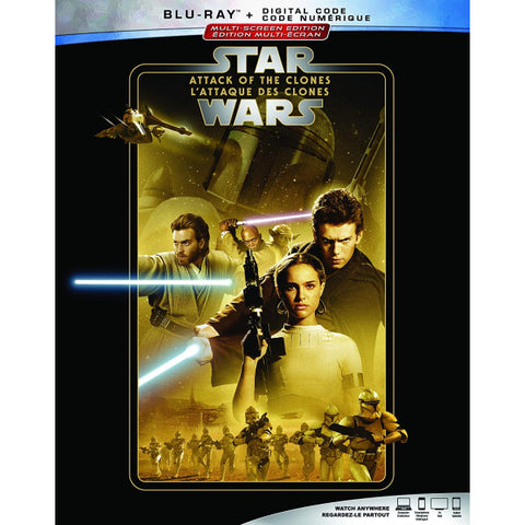 Star Wars: Episode II - Attack of the Clones [Blu-ray + Digital]