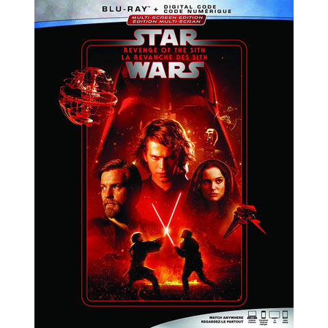 Star Wars: Episode III - Revenge of the Sith [Blu-ray + Digital]