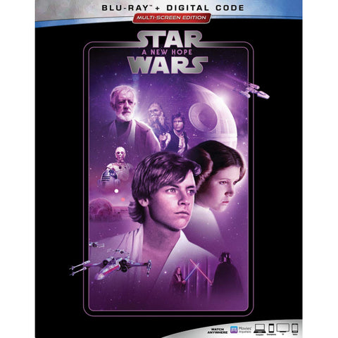 Star Wars: Episode IV - A New Hope [Blu-ray + Digital]