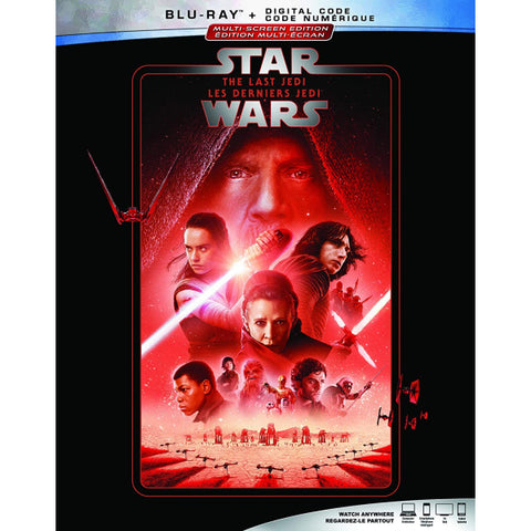 Star Wars: Episode VIII - The Last Jedi [Blu-ray + Digital]