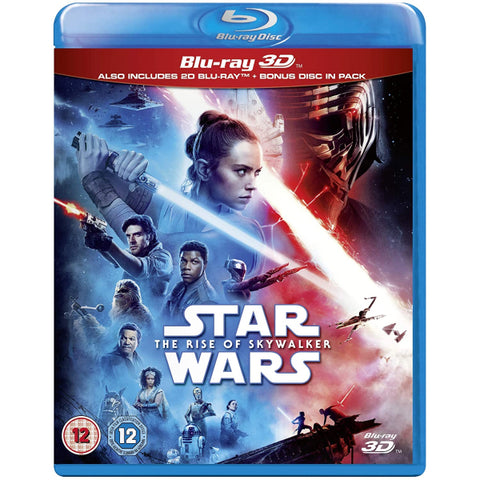 Star Wars: Episode IX - The Rise of Skywalker  [3D + 2D Blu-ray]