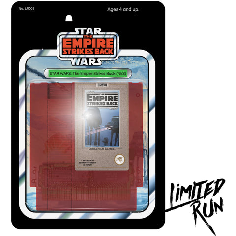 Star Wars: The Empire Strikes Back - Classic Edition - Limited Run #003 [NES]
