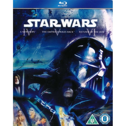 Star Wars: Original Trilogy - Episodes IV-VI [Blu-ray]