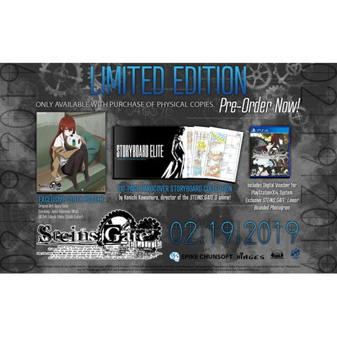 Steins;Gate Elite - Limited Edition [PlayStation 4]