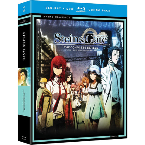 Steins;Gate: The Complete Series [Blu-Ray + DVD Box Set]