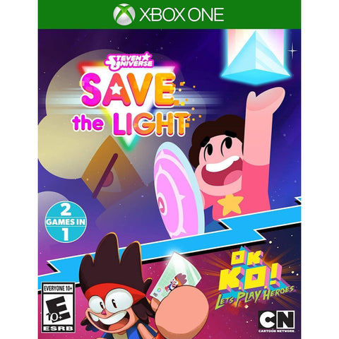 Steven Universe: Save the Light + OK K.O.! Let's Play Heroes Combo Pack [Xbox One]
