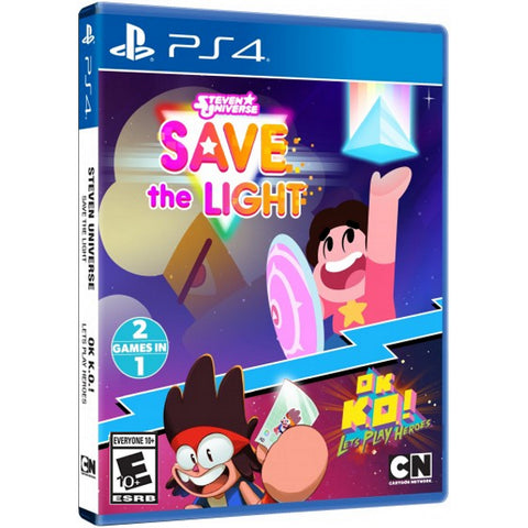 Steven Universe: Save the Light + OK K.O.! Let's Play Heroes Combo Pack [PlayStation 4]