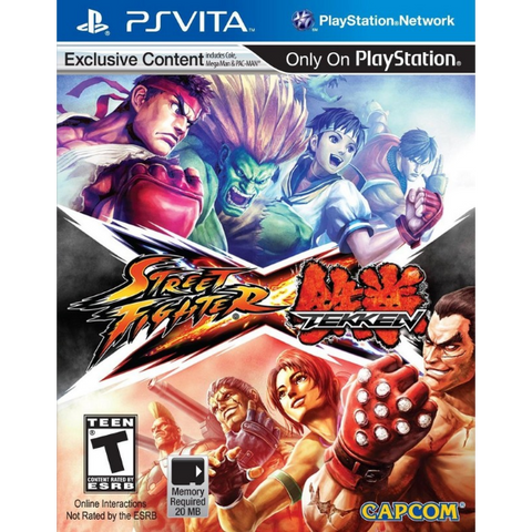 Street Fighter X Tekken [Sony PS Vita]