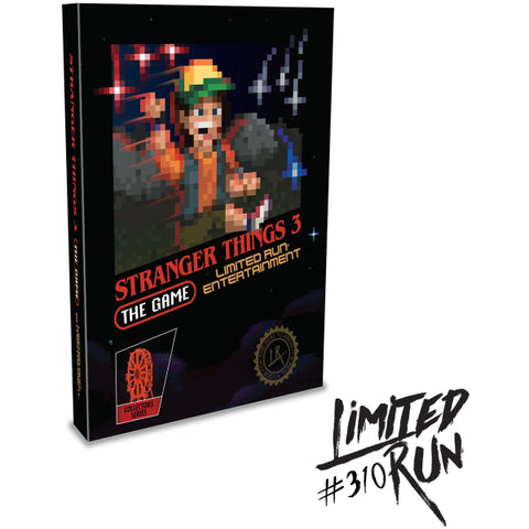Stranger Things 3: The Game - Collector's Edition - Limited Run #310 [PlayStation 4]