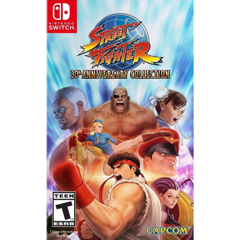 Street Fighter: 30th Anniversary Collection [Nintendo Switch]
