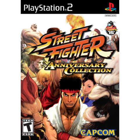Street Fighter Anniversary Collection [PlayStation 2]