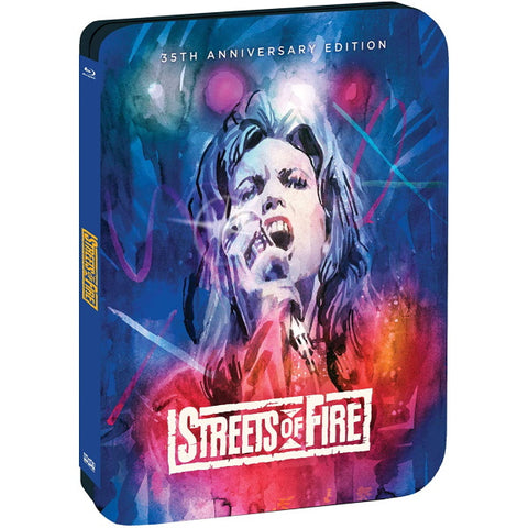 Streets of Fire: 35th Anniversary Edition - Limited Edition SteelBook [Blu-Ray]