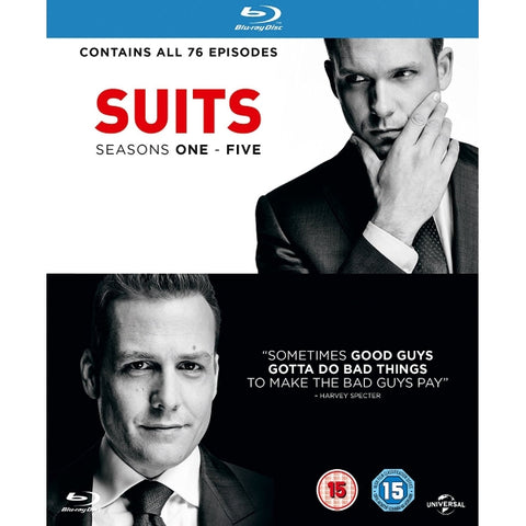 Suits - Seasons 1-5 [Blu-Ray Box Set]