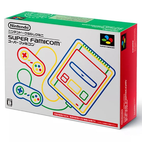 Nintendo Classic Mini: Super Famicom - Japanese Edition [Retro System]