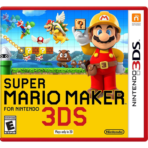 Super Mario Maker for Nintendo 3DS [Nintendo 3DS]