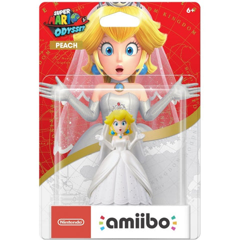 Wedding Outfit Peach Amiibo - Super Mario Odyssey Series [Nintendo Accessory]
