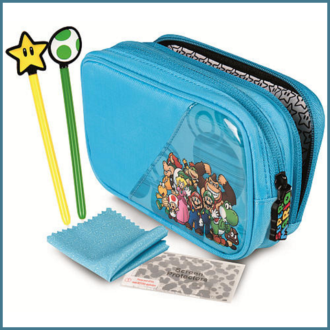 Super Mario Starter Kit for Nintendo DS/3DS - Mario & Friends [Nintendo Accessory]