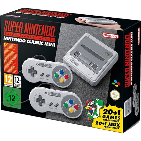 Super Nintendo Entertainment System SNES Classic Mini - PAL Edition [Retro System]
