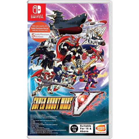 Super Robot Wars V [Nintendo Switch]