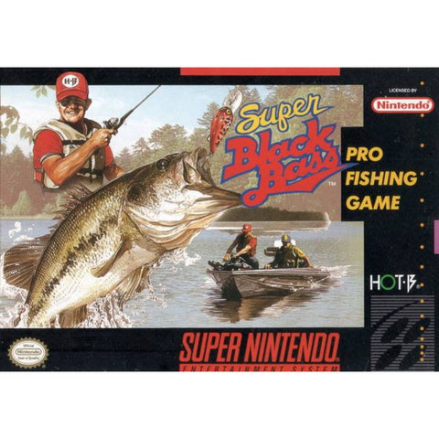 Super Black Bass [SNES]