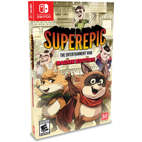 SuperEpic: The Entertainment War - Badge Edition [Nintendo Switch]