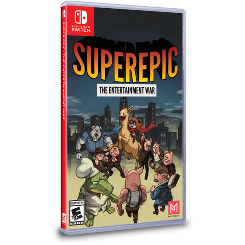 SuperEpic: The Entertainment War [Nintendo Switch]