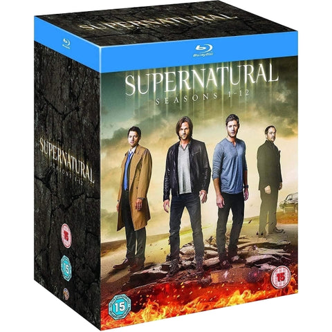 Supernatural: Seasons 1-12 [Blu-Ray Box Set]