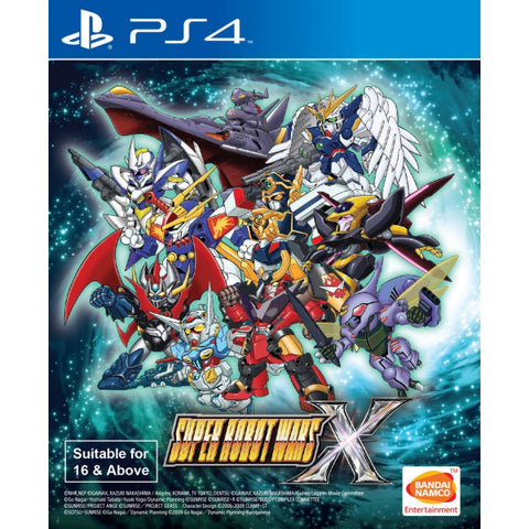Super Robot Wars X [PlayStation 4]