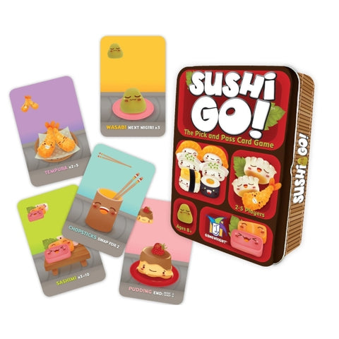 Sushi Go! - The Pick and Pass Card Game [Card Game, 2-5 Players]
