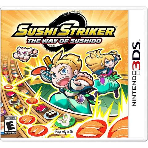 Sushi Striker: The Way of Sushido [Nintendo 3DS]