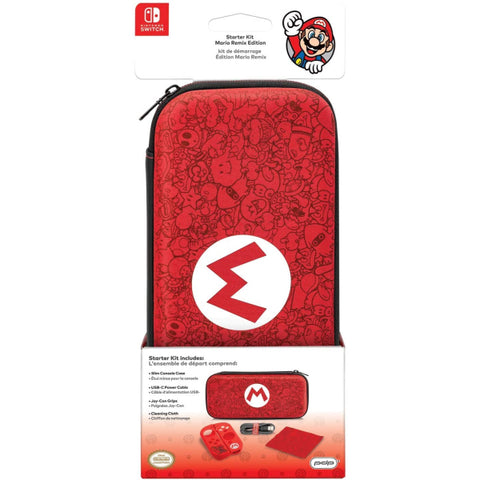 Switch Starter Kit - Mario Remix Edition [Nintendo Switch Accessory]